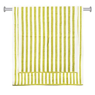 Set de Toallas Stripes Verde x 2