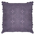 Cojín Crochet Purpura