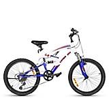 Bicicleta Aro 20 Viper DH Blanco-Negro