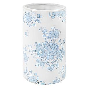 Vaso Flores Azul