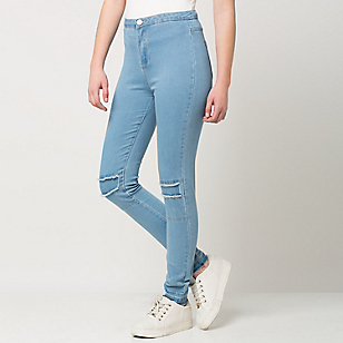 Jeans Mujer Destroyer