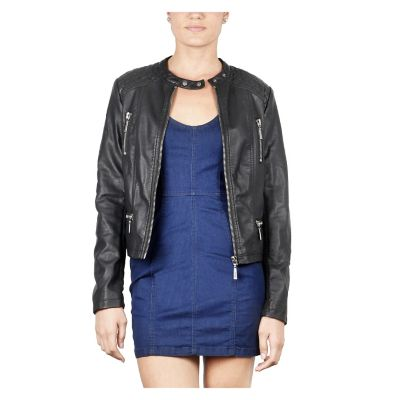Mossimo Casaca Mujer Pu Quilted
