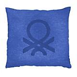 Cojín Logo Azul