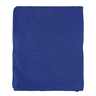 Manta Tejida Azul