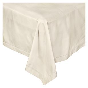 Mantel Solid Ecru 180 x 240 cm