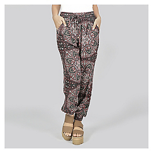 Pantalón Mujer Bombacho Print