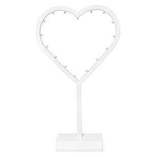 Luces Corazón LED 38 cm