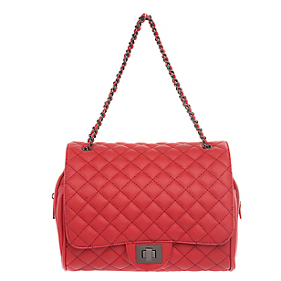 Cartera Quilted Mediana