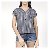 Blusa Mujer Basic Print