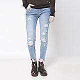 Jeans Rasgados Lisos