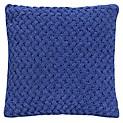Cojín Chenille Azul