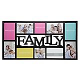 Marco de Foto Family 10 Fotos Negro
