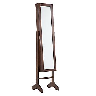 Espejo Joyero Marrón 35 x 153 cm