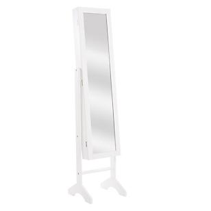 Espejo Joyero Blanco 35 x 153 cm
