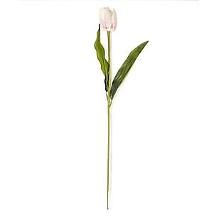 Flor Tulipan Blanca 55 cm