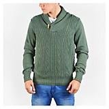 Sweater Cuello Shawl Texturado