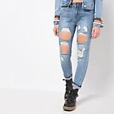 Pantalón Jean Moda Rotos