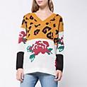 Sweater Animal Flower