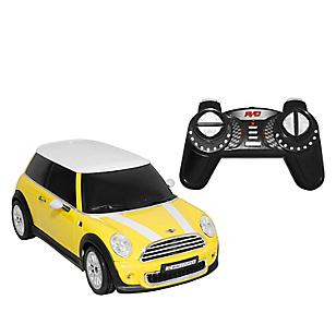 Radio Controlado Mini Cooper 1:18