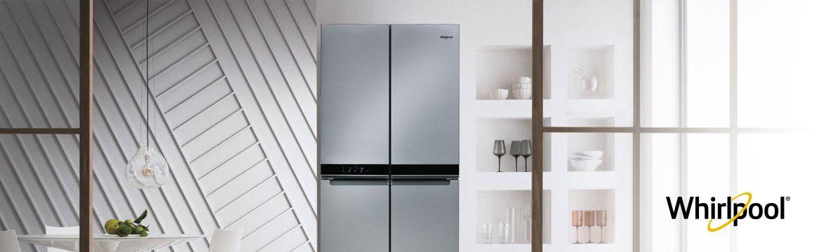 Refrigeradora Whirlpool French Door Bottom Mount QUATTRO. 4 Puertas de 591 Litros de capacidad. WQ9B1L - 881969085
