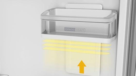 Refrigeradora Whirlpool Top Mount de 400 Litros de capacidad con anaqueles más flexibles y ajustables a tus necesidades. WRM45AKBPE - 881976435