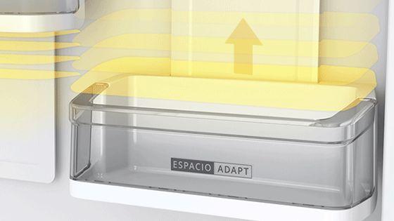 Refrigeradora Whirlpool Top Mount de 500 Litros de capacidad con anaqueles más flexibles y ajustables a tus necesidades. WRM57AKBPE -  881976437