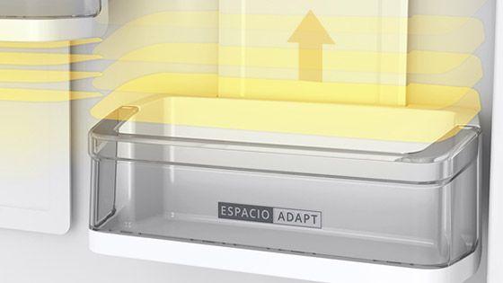 Refrigeradora Whirlpool Bottom Mount de 480 Litros de capacidad con anaqueles más flexibles y ajustables a tus necesidades. WRE57AKBPE -  881976441