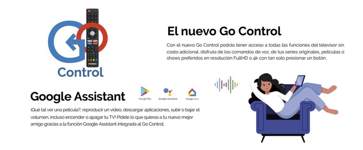 Hyundai Andorid TV con Google Assistant y Go Control