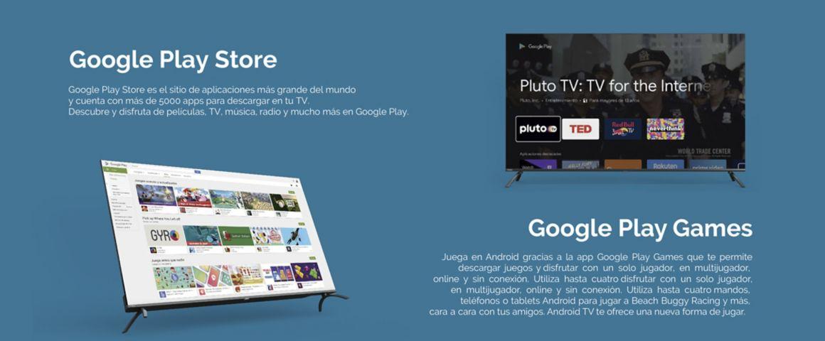 Hyundai Andorid TV con Google Play Store