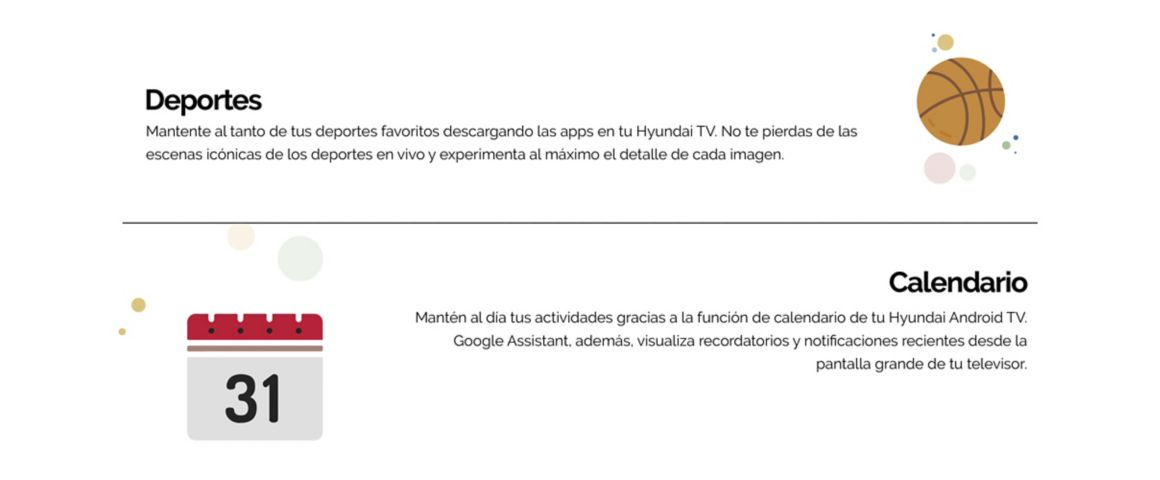 Hyundai Andorid TV con Google Assistant