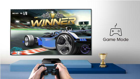 TV Hisense - Modo juego