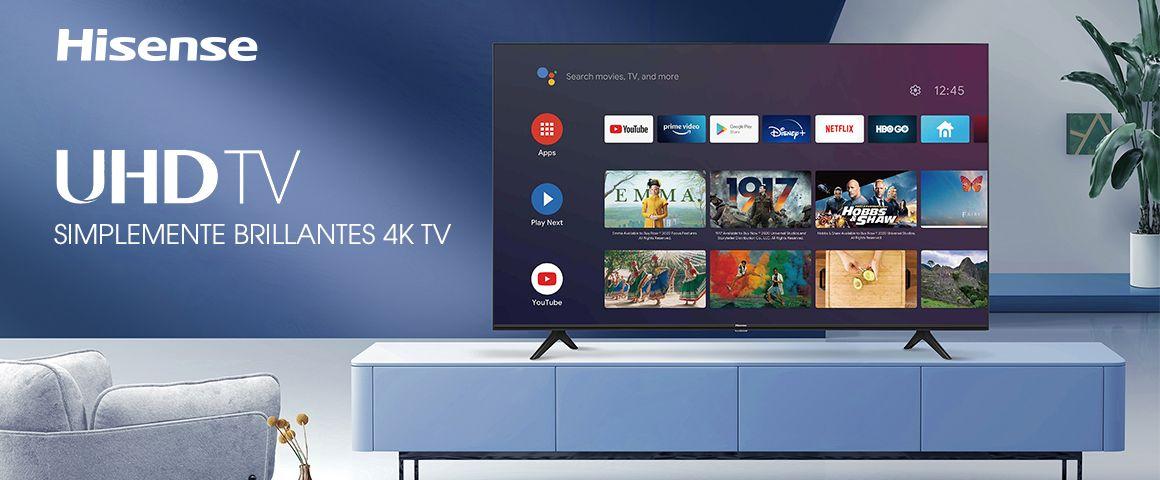 Televisor Hisense A6G UHD 55 pulgadas