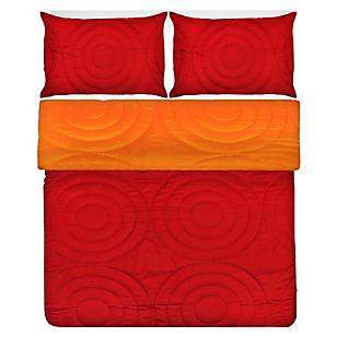 Cubrecama Heat Press Rojo