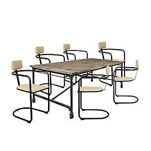 Juego de comedor Verona con 6 sillas
