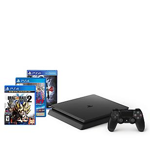 Combo: Consola PS4 Slim + PES 2017 + DB Xenoverse 2