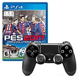 Combo: Videojuego PS4 PES17 + Control DUALSHOCK 4