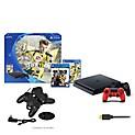 Consola PS4 Slim + 2 Mandos + 2 Juegos + Cargador Dual + Cable HDMI + SKIN a Elegir