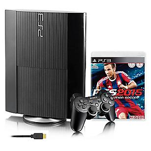 Consola PS3 + Mando + PES 2015 + Cable HDMI