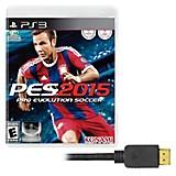 Juego PS3 PES2015 + Cable HDMI