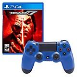 Control PS4 Azul + Juego PS4 Tekken 7