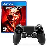 Control PS4 Negro + Juego PS4 Tekken 7