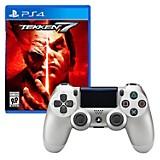 Control PS4 Silver + Juego PS4 Tekken 7