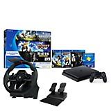Consola PS4 Hits + Timón Racing Wheel
