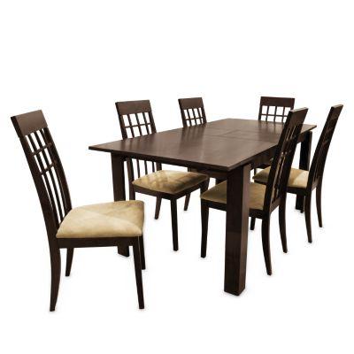 Juego de comedor mica tanaka 6 sillas for Juego comedor cocina