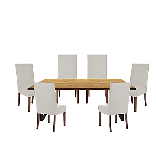Juego de comedor Contempo con 6 sillas