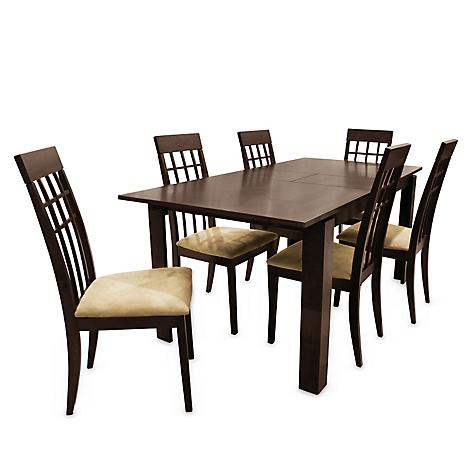 Juego de comedor mica tanaka 6 sillas for Juego comedor pequea o