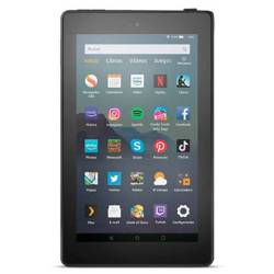 AMAZON<BR>TABLET KINDLE FIRE 7 2019 16 GB - NEGRO