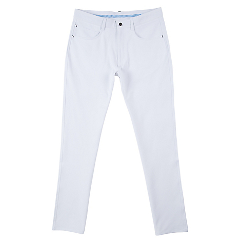 Athletic Fit Pants White