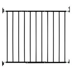 Puerta Seguridad Escalera Negro