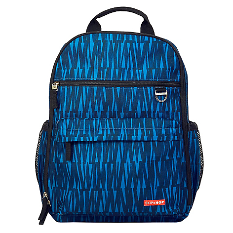 Mochila Via Backpack Blue Graffit